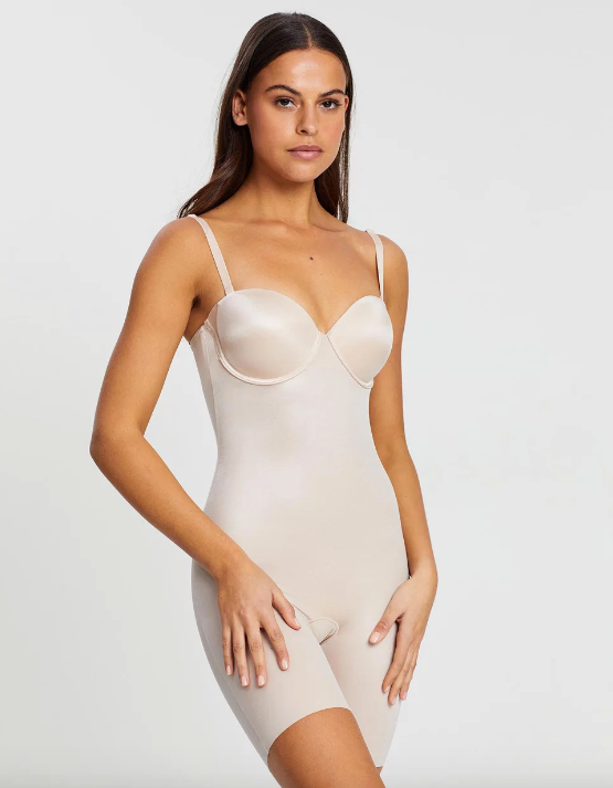 This Spanx bodysuit is available on The Iconic.