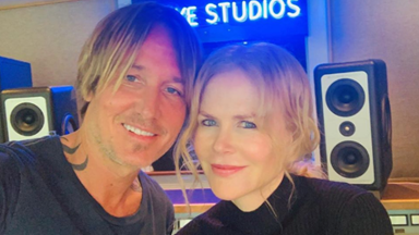 Nicole Kidman supports husband Keith Urban during his second coronavirus gig