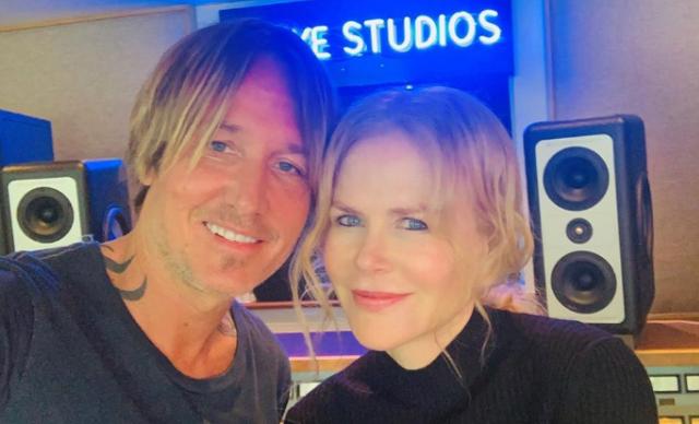 Nicole Kidman supports husband Keith Urban during his second coronavirus gig