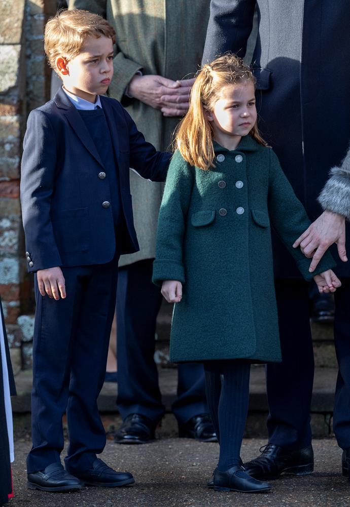 Prince George and Princess Charlotte will be learning plenty from home by the looks of things.