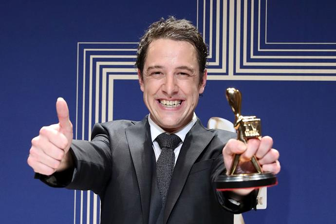 Sam won the TV Week Gold Logie Award in 2017, after his portrayal of Molly Meldrum on *Molly*.