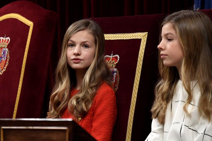 Princess Leonor and Infanta Sofía have also commenced homeschooling amid the pandemic.