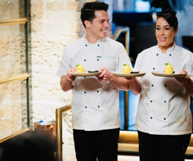 The duo's dessert wowed judges and fans.
