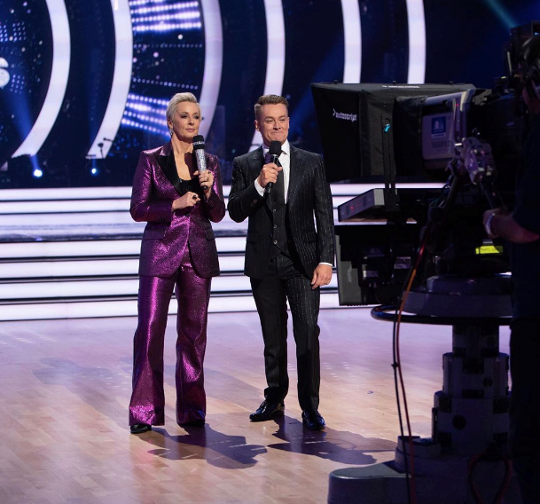 Amanda Keller and fellow host Grant Denyer are soldiering on.