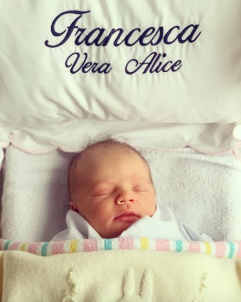 Francesca Vera Alice - what a cutie!