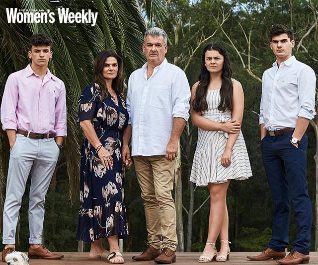 The Marsden family.