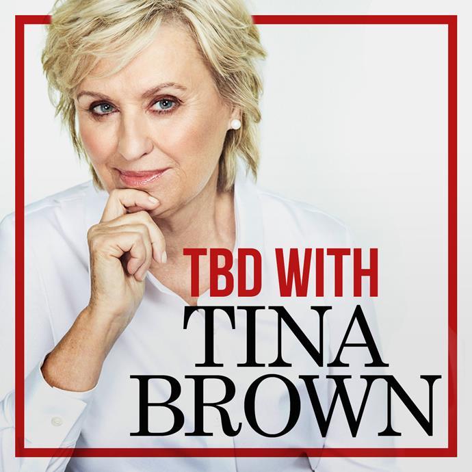 The iconic magazine editor Tina Brown.