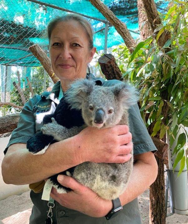 Marley tells Woman's Day she's never looked back after agreeing to dedicate her life to the welfare of Koalas.