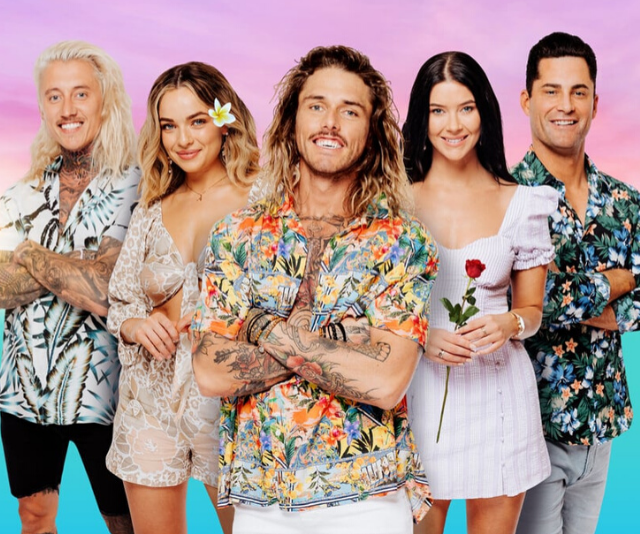 The new cast of *Bachelor in Paradise* for 2020.
