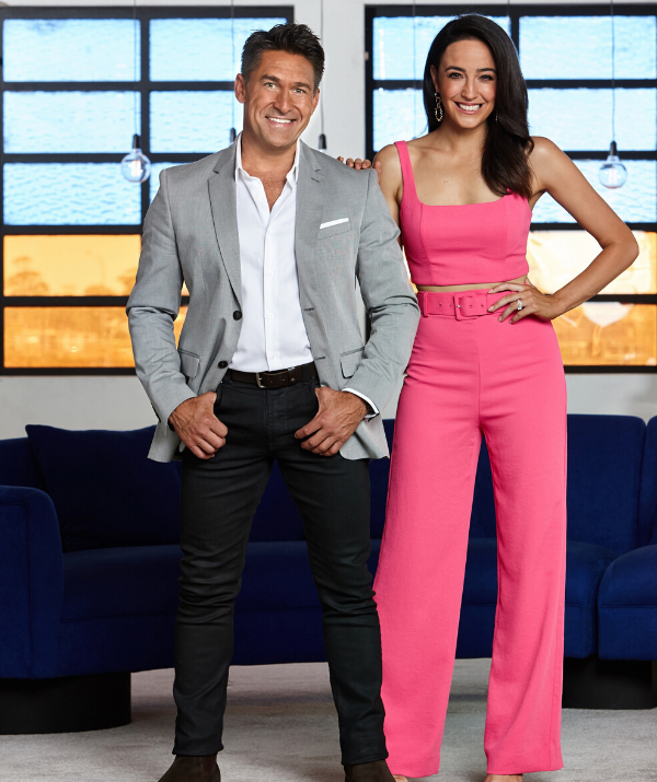 Jamie Durie will serve as the House Rules High Stakes host this year, alongside Abbey Gelmi (R)