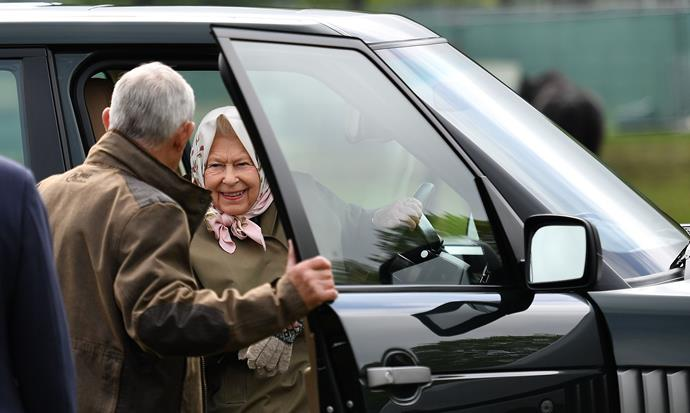 It looks like the Queen has been coming up with some fun ideas for kids during her isolation at Windsor Castle.