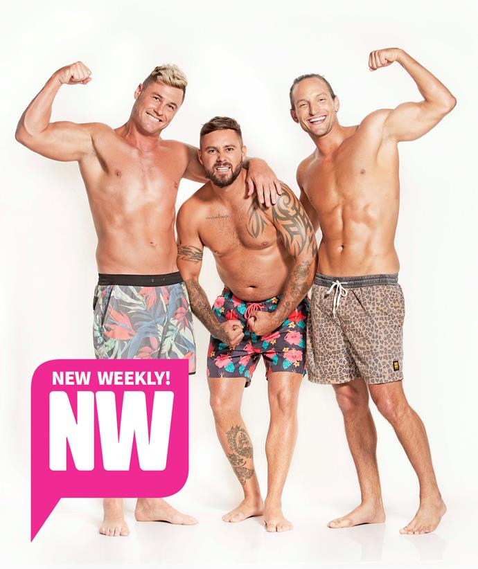 These boys showed off their ripped rigs while exposing a few of *MAFS*' secrets!