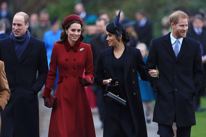 Meghan's growing baby bump was out in force as she and Prince Harry attended the annual Christmas day church service at Sandringham - a year on from their initial debut. Oh how a lot can happen in a year!