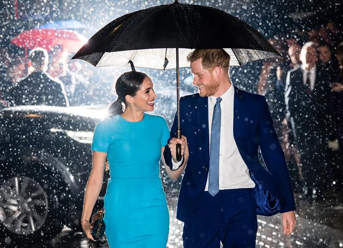 """Stepping out together for the first time since their shock announcement two months later, Meghan and Harry were positively glowing as they attended the [Endeavour Fund Awards](https://www.nowtolove.com.au/royals/british-royal-family/prince-harry-meghan-markle-endeavour-fund-awards-62932