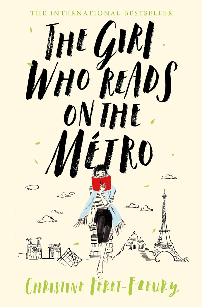 ***The Girl Who Reads on the Metro* by Christine Feret-Fleury** <br><br> If it's good, pass it on. Bookseller's grand-daughter Juliette is not really cut out to be in real estate.  <br><br> As she rides the Paris Metro to work, her nose is usually deep in a book, although of late she has been taking more interest in what her fellow travellers read – and what she can glean about them from each book's title. There's the moist-eyed woman who re-reads dog-eared romance novels and the man who studies tomes about insects.  <br><br> One day, she gets off a stop early to take a walk in the Paris backstreets and falls upon a bookshop – its door held open by a book. Offended – why use a book to prop open a door? – the girl who loves the smell of books and rescues them from car boot sales goes inside...