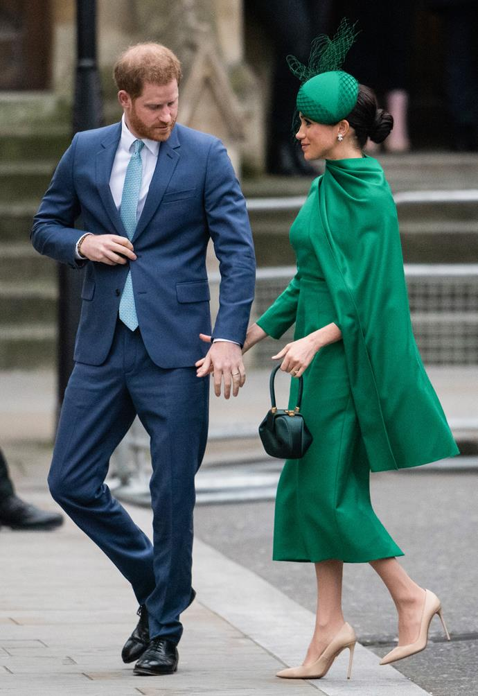 Instead, the pair moved to Meghan's former home town of Los Angeles.