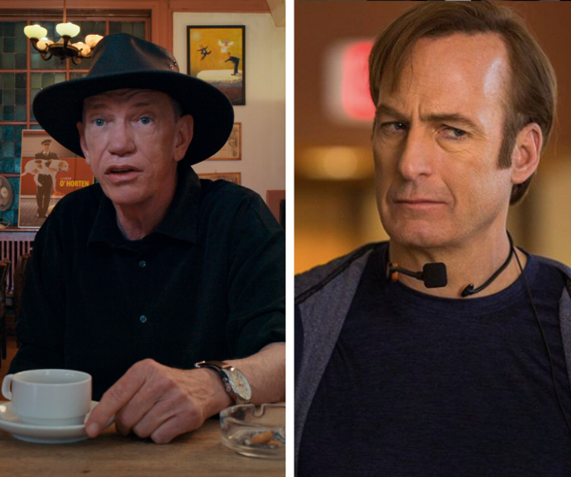 **Rick Kirkham** <br><br> Slap a cowboy hat on *Better Call Saul's* **Bob Odenkirk**, and we think we've found the perfect Rick Kirkham, the TV producer behind the Joe Exotic doco.