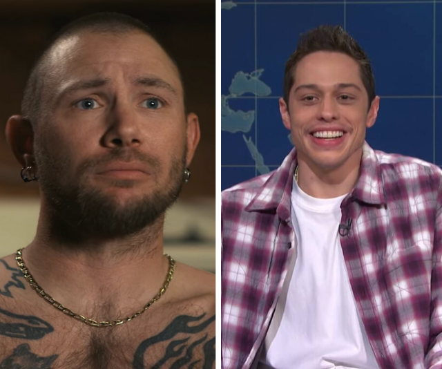 **John Finlay**  <br><br> We think **Pete Davidson's** chaotic energy is a perfect match for Joe's first husband, John.