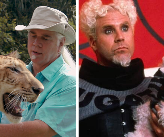 "**Doc Antle**  <br><br> *Zoolander*'s Mugatu (played by **Will Ferrell**) and ""Doc"" Antle are pretty much the same person, and we won't be convinced otherwise."