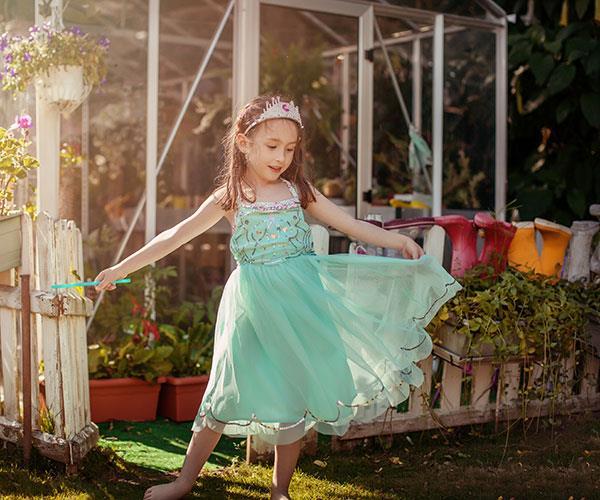 Build a fairy garden.