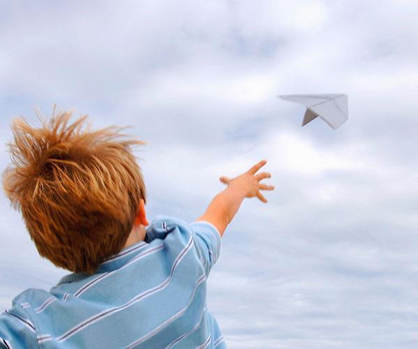 Make paper planes.