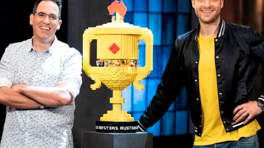 This is where Lego Masters Australia is filmed