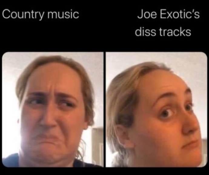 Joe's country music career really deserves its own spin-off series.