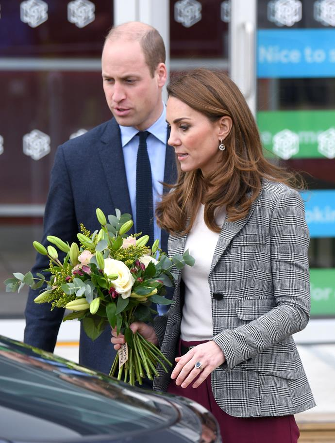 The Duke and Duchess of Cambridge have found another way to thank NHS volunteers amid the lockdown.