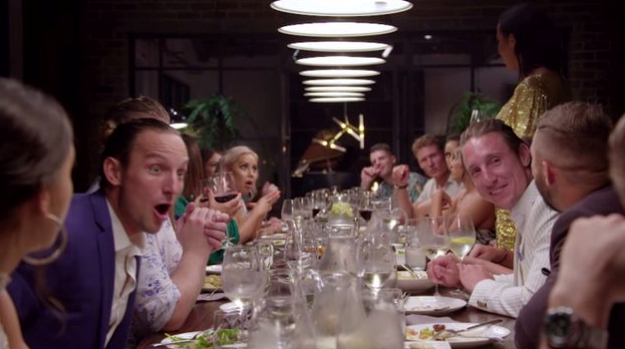 The reunion dinner party was explosive to say the least!