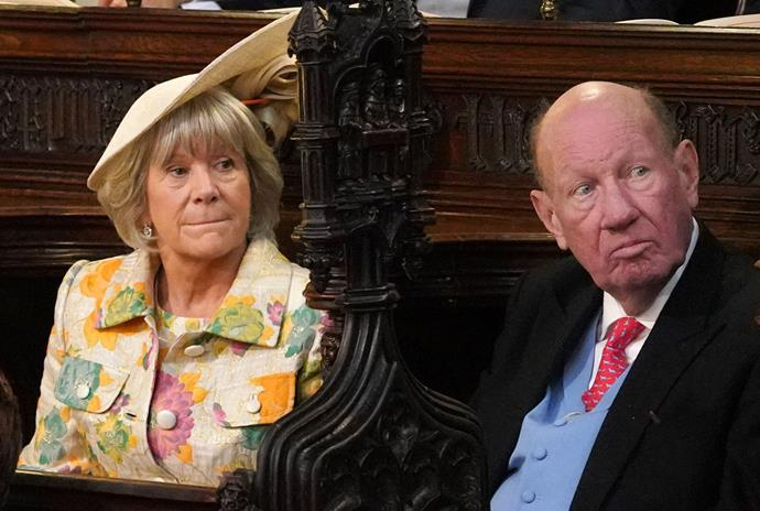 Nicola and George Brooksbank were seen at the royal wedding back in October 2018.