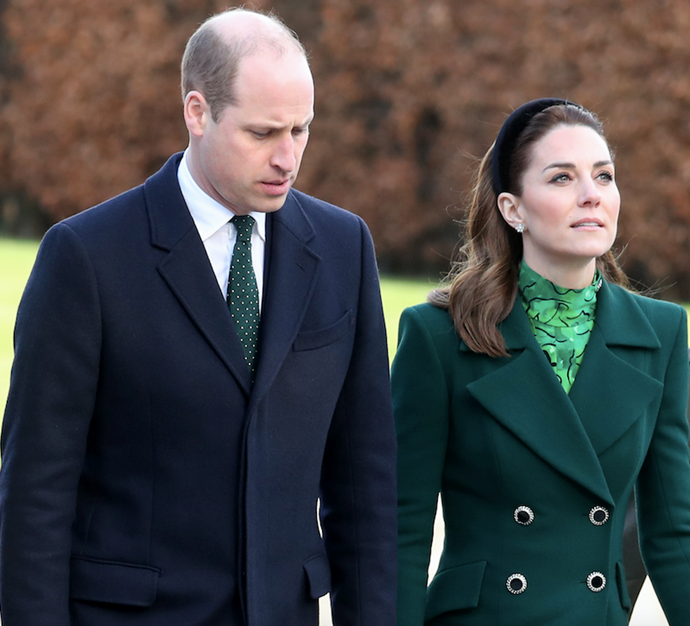 Duchess Catherine and Prince William resonated with the Queen's words about family in her public address.