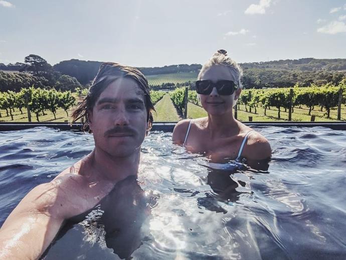 Hayden and girlfriend Jax have been dating since 2016.