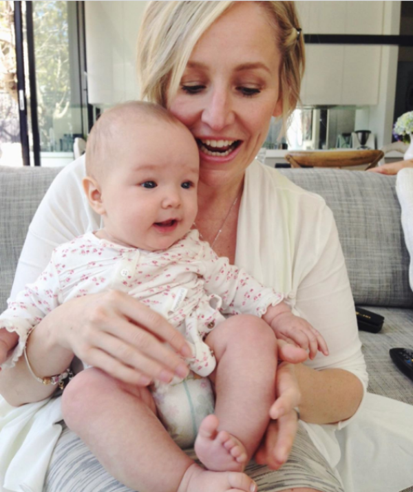 """""""Flashback to when my birthday girl was a tiny bubba 💕 #TrixieBelle."""""""