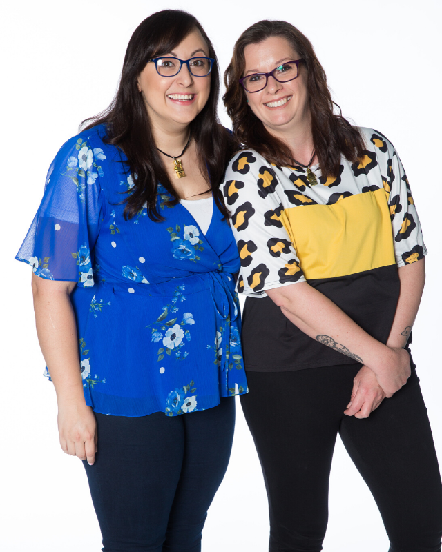 "**JENNIFER AND JODIE** <br><br> Jennifer is a researcher and program coordinator who also loves knitting and craft, as well as Lego, describing herself as a ""Jen-Gineer"".  <br><br> Stay-at-home mum by day and self-described ""Batman"" by night, Jodie is a member of Lego fan group Southern Bricks in South Australia. She is such an expert that she was recently on the committee for – and displayed one of her builds at – Brixpo, her Lego User Group sold-out event, where she dressed up as Lego Batman.  <br><br> Jodie's son has autism, and she believes encouraging him to play with Lego helps to capture and fuel his imagination."