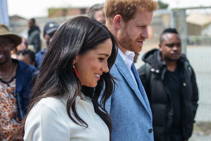 "Harry and Meghan want to ""do something that matters"" with their new charity, Archwell."