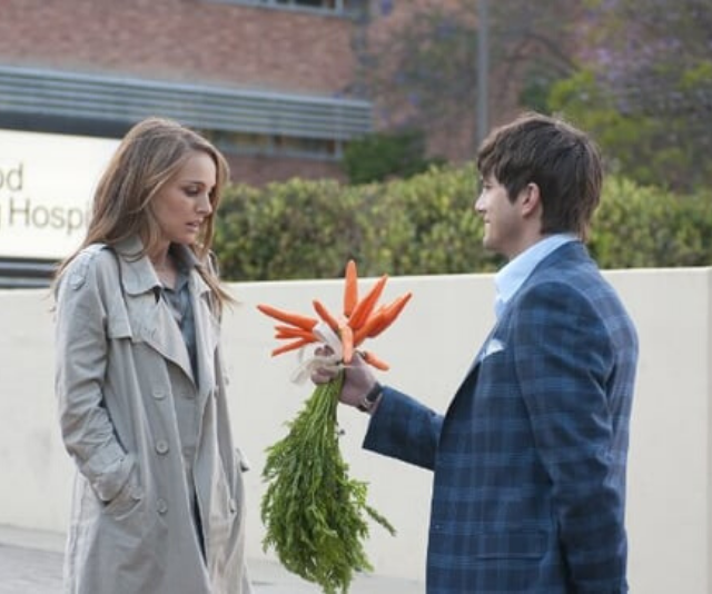 No one hates flowers, unless you're Natalie Portman in *No Strings Attached*.