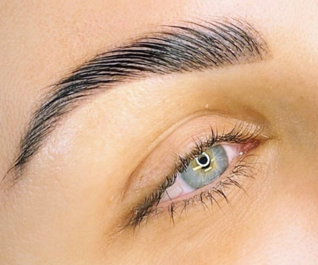 Keeping your brows well-groomed takes hard work and expertise.