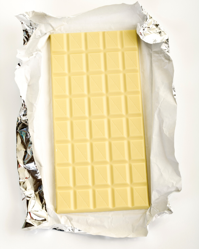 Hands up who else loves white chocolate?