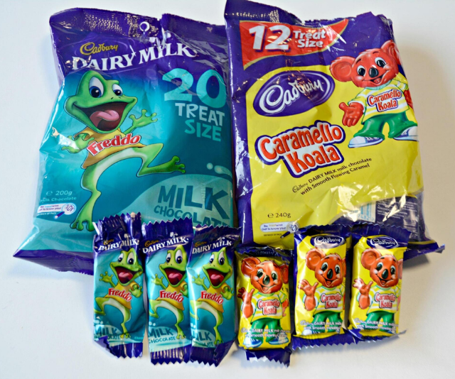 You can never go wrong with a classic Freddo or Caramello.