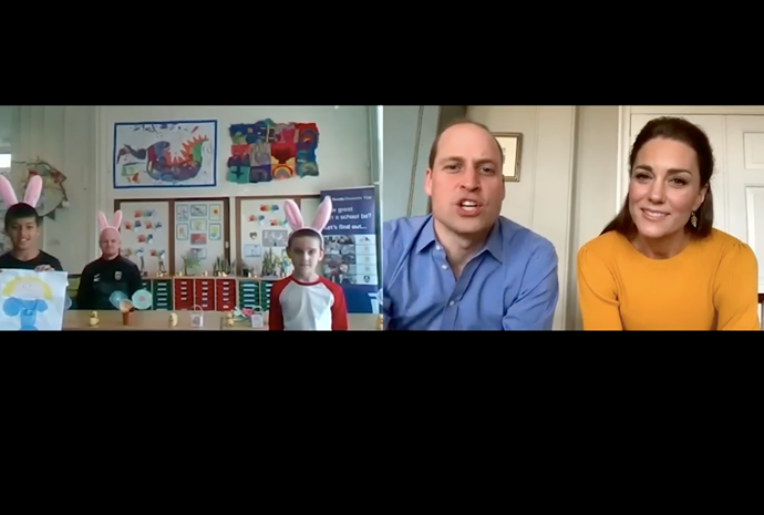Kate and Wills' heartwarming video with school children was shared on Instagram.