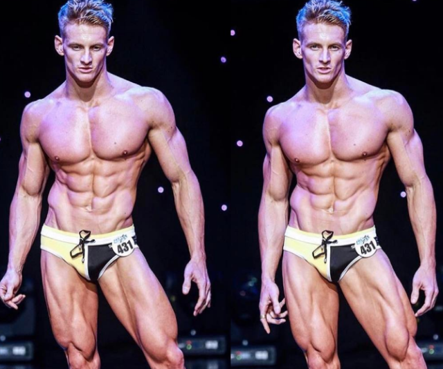 Rhys confessed body building competitions aren't that important to him.