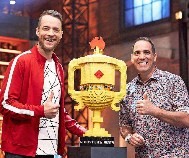 Hamish Blake is back for season two of *LEGO Masters*.