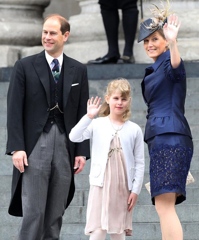 They have the royal wave sorted.