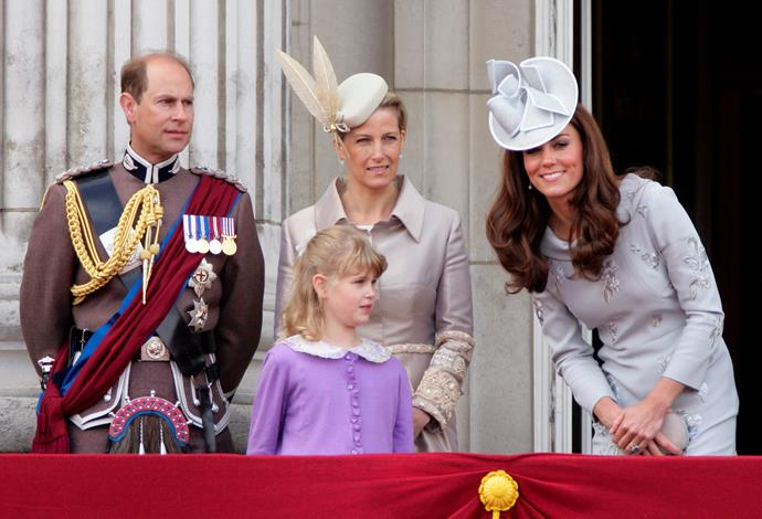 The Wessexes have a close relationship to the Duke and Duchess of Cambridge.