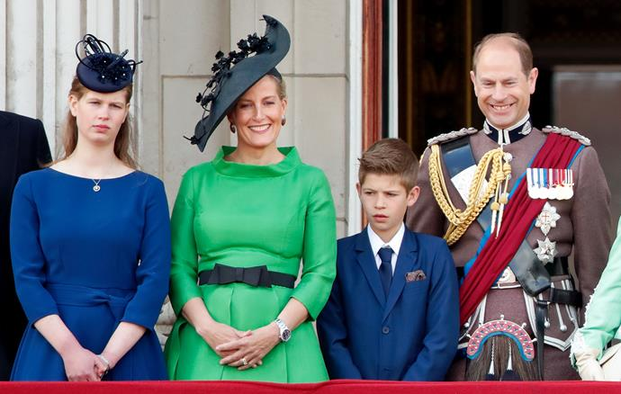 All smiles on the Buckingham Palace balcony.