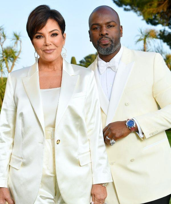 """**KRIS JENNER, 65, & COREY GAMBLE, 40: 25 YEARS**  <br><br> """"Sex at my age is a beautiful thing. Corey is like a walking, talking Luther Vandross song. He is so sexy always,"""" Kris reveals of their very healthy sex life."""