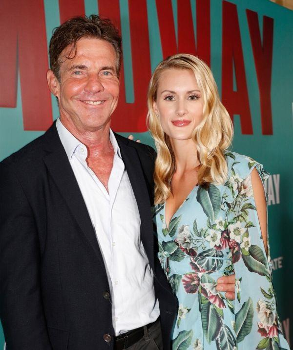 **DENNIS QUAID, 76, & LAURA SAVOIE, 26: 39 YEARS**  <br><br> The actor's character got engaged to a 26-year-old in *The Parent Trap*, so Dennis' betrothal to Laura (also 26) felt like major déjà vu.