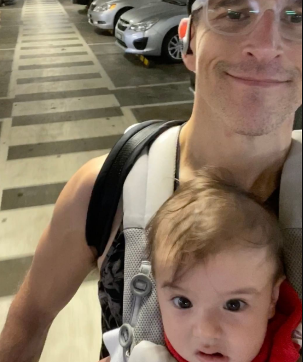 """""""We've gone to RipleyMode™!"""" joked Osher as he shared this cute snap."""