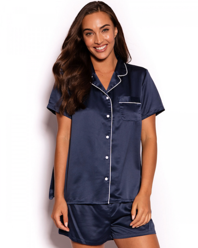 "**MONOGRAMMED PYJAMAS** <br><br> With all of us spending a lot more time at home right now, having [chic and stylish loungewear](https://www.nowtolove.com.au/fashion/fashion-trends/loungewear-australia-63107|target=""_blank"") and pyjamas can make shuffling about in our jimmy jams just that little more comforting.  <br><br> This lovely set from Bras N Things comes in a range of colours, plus you can easily personalise these PJs with your Mum's initials, completely free.  <br><br> [**AVAILABLE FROM: Bras N Things, $60**](https://www.brasnthings.com/catalog/product/view/id/172985/