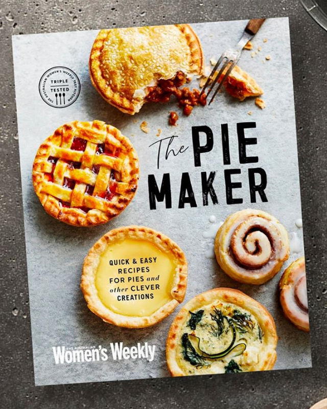 "**A COMFORTING COOKBOOK** <br><br> [The pie maker cooking trend](https://www.nowtolove.com.au/lifestyle/food-drinks/pie-maker-hacks-62992|target=""_blank"") has absolutely blown up recently, so what better way to celebrate this awesome new method of preparing one of our favourite foods, than a whole book of pie recipes? <br><br> It's full of both sweet and savoury creations and is perfect for life in self isolation, while we all have a bit more time to get our bake on.  <br><br> [**AVAILABLE FROM: Bauer Books, $25**](https://www.bauerbooks.com.au/Products/65059/the-australian-womens-weekly-the-pie-maker?utm_source=ntl&utm_medium=article_page&utm_campaign=mothers_day